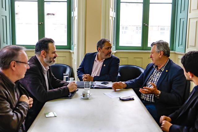 13/09/2019 Audiência com vice-prefeito de Porto Alegre, Gustavo Paim e bancada progressista municipal