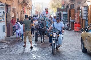 Marrakesch am frühen Morgen