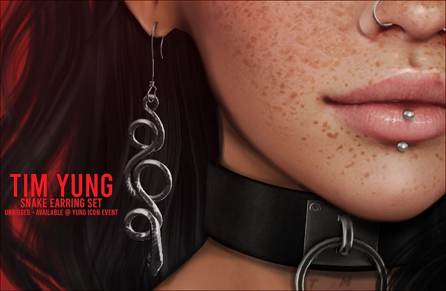 Tim Yung - Earrings Available @ YUNG ICON