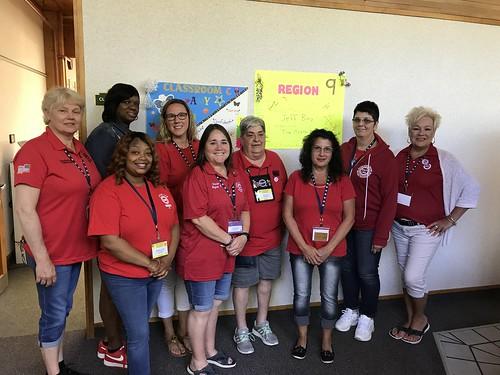 Region 9 Delegates 2019 Women's Conference