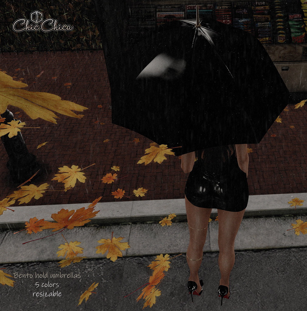Umbrellas by ChicChica GIFT @ Mainstore