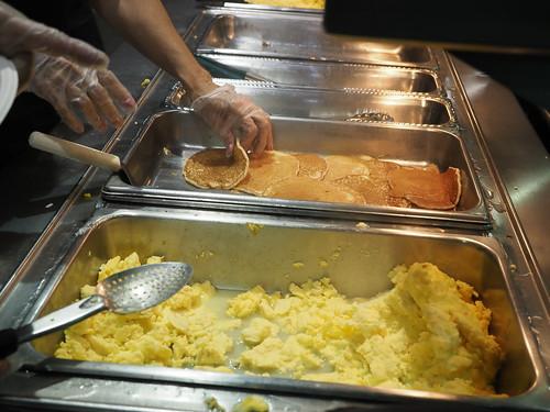 Midnight Pancake Breakfast