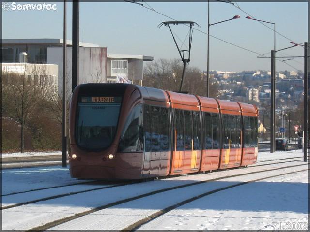 Alstom Citadis 302 – Setram (Société d'Économie Mixte des TRansports en commun de l'Agglomération Mancelle) n°1003 (Allonnes)