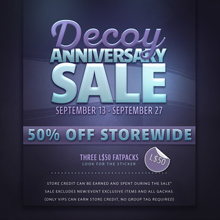 Decoy 12th Anniversary Sale