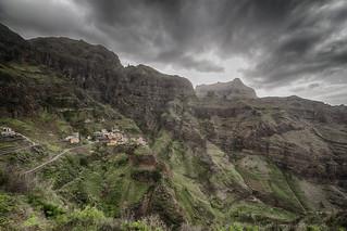 Fontainhas. Santo Antão. Cabo Verde