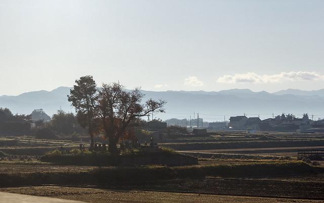 Rural cemetery, Nagano Prefecture, Japan