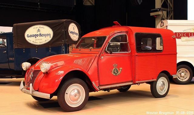 Citroën 2CV AZU 250 Poste 1959