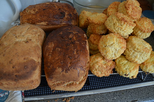 loaves and scones Sept 19