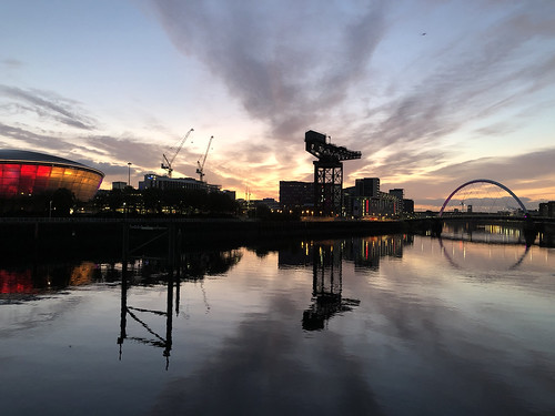 bbcscotland clyde morning sunrise reflections
