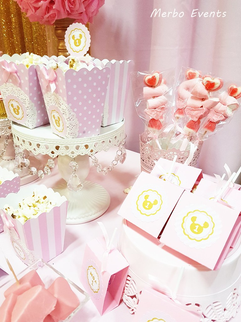 detalles mesa dulce minnie Merbo Events