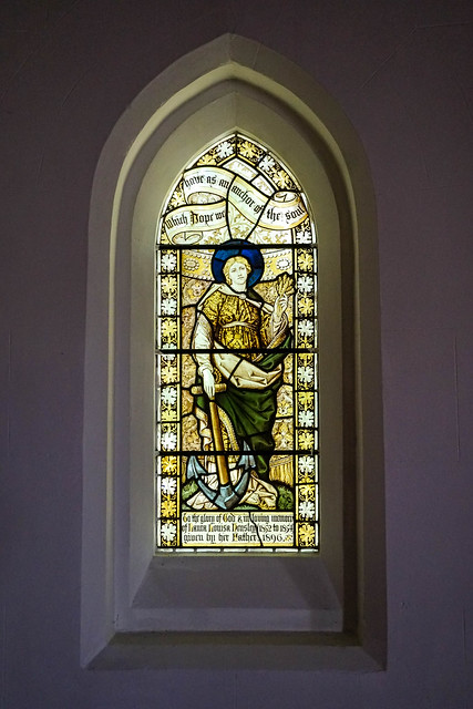 Stained Glass Window in Holy Trinity Church, Forest Green