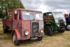 GIIBRG posted a photo:	A pair of vintage Foden lorries seen at the 'Redbourn Classics' motor show on Saturday 7th September 2019.Redbourn, Herts.