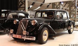 Citroën Traction Avant 15 Six 1951