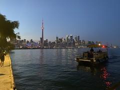 Toronto Island Night View