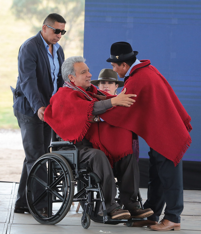 PRESIDENTE DE LA ASAMBLEA NACIONAL, CÉSAR LITARDO PARTICIPÓ EN LA SOCIALIZACIÓN DE LOS SERVICIOS DEL IESS.  MEJÍA, 12 DE SEPTIEMBRE 2019.