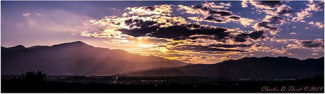 Pike's Peak Sunset