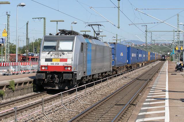 Railpool 186 258 Weil am Rhein