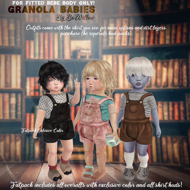 Granola Babies Outfit Ad