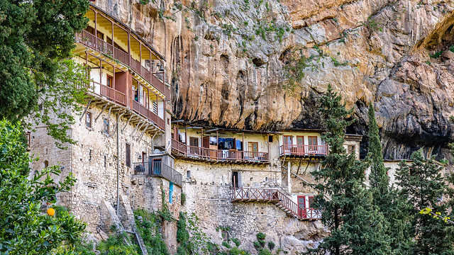 Prodromou Monastery, Arcadia, Greece