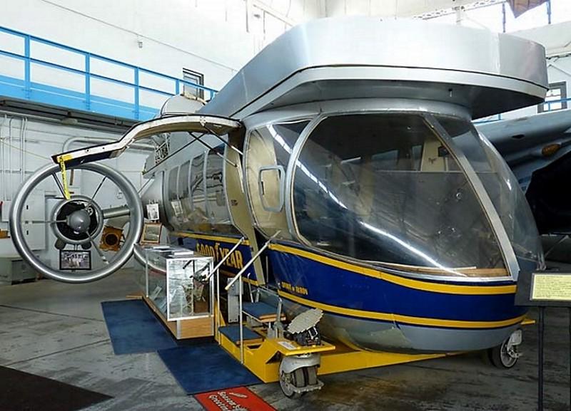 Goodyear GZ-22 Airship Gondola 1