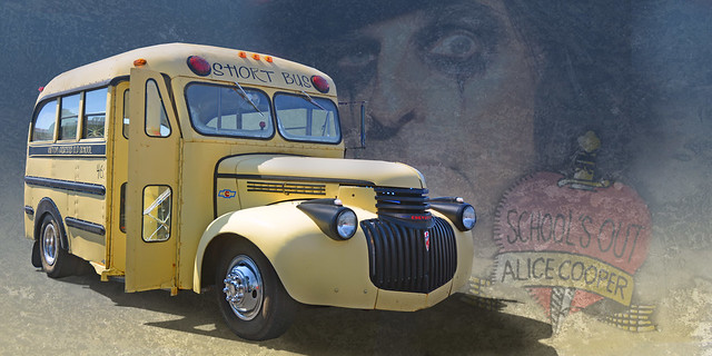 Short Bus - 1946 Chevy School Bus