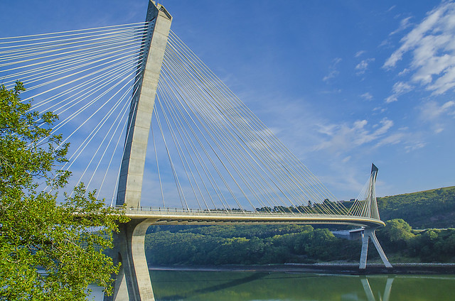 Pont de Térénez, Finistère.