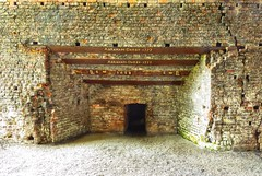 Coalbrookdale historic iron furnace, 1638