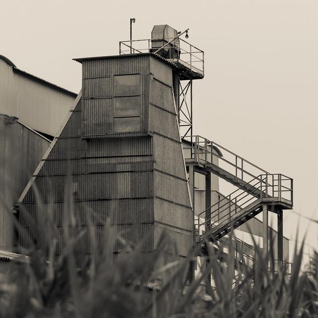 Campagna industriale N.16. Industrial countryside N.16 ( Monocromo/Monochrome)