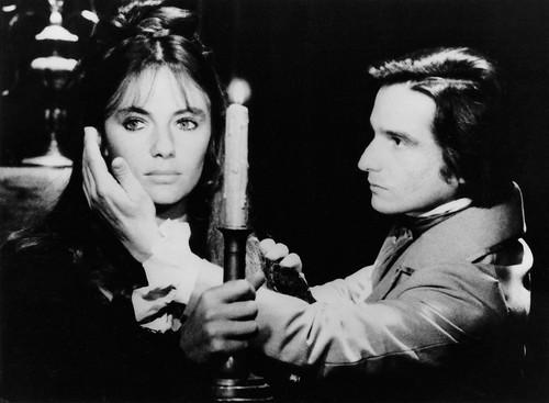 Jacqueline Bisset and Jean-Pierre Léaud in La nuit américaine (1973)