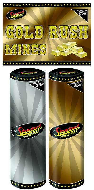 Gold Rush Mines by Standard Fireworks