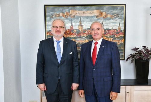 Valsts prezidents Egils Levits piedalās Latvijas Valsts pirmā prezidenta Jāņa Čakstes 160. dzimšanas dienas atceres pasākumos