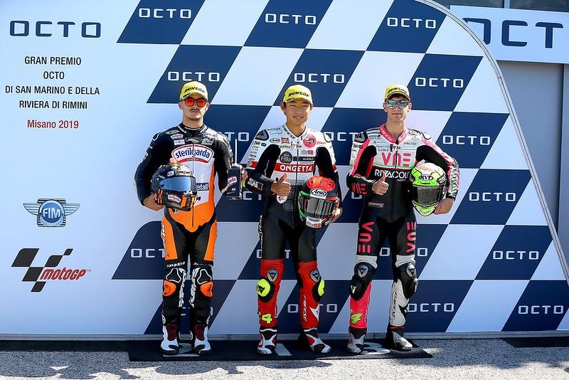 Top 3 moto3 kwalificatie