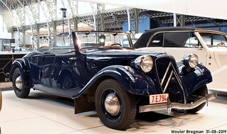 Citroën Traction Avant 11B cabriolet 1939