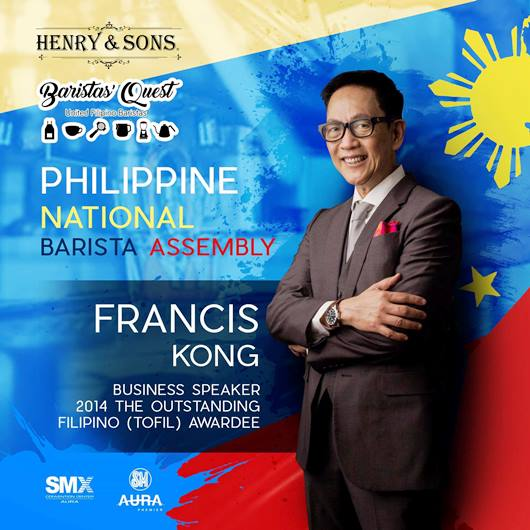 National Barista Assemble Philippines Francis Kong