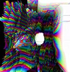 A rainbow hasn't heart . . . . . #graphicdesigners #graphicdesign #holographic #fubiz #lovewatts #silhouetteportrait #thegraphicpr0ject #artfido #poster #acidart #vaporart #processing #generativeart #rgb #abstract #abstractart #vhsart #vaporwave #retro #v