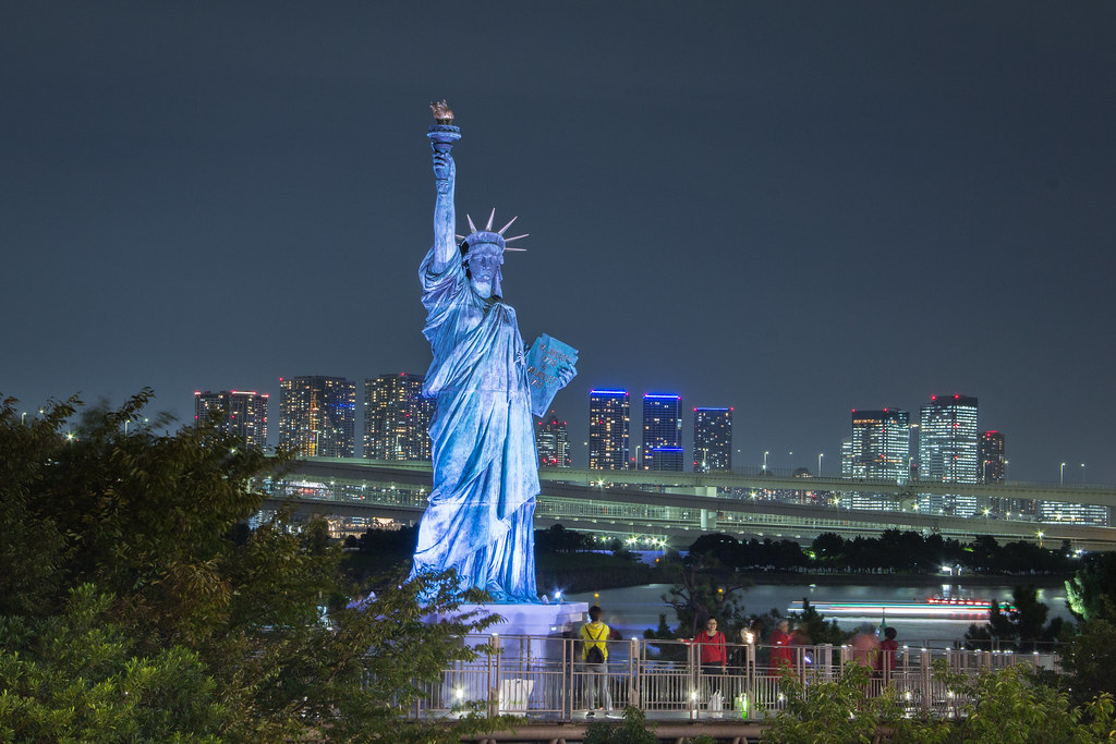 Statue of Liberty Replica, Odaiba, Tokyo