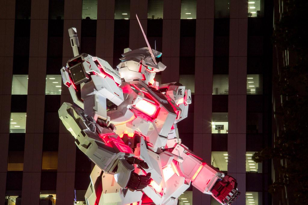 Gundam Unicorn, Odaiba, Tokyo