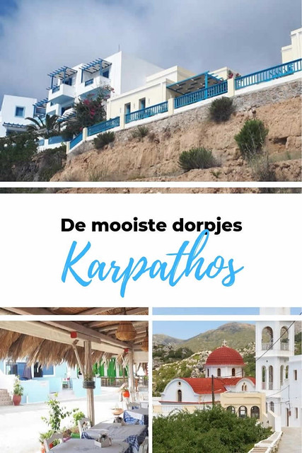 De mooiste dorpjes op Karpathos | Vakantie Karpathos