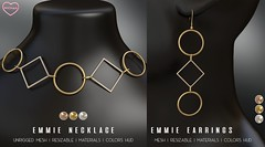 Emmie Necklace and Earrings @ The Saturday Sale
