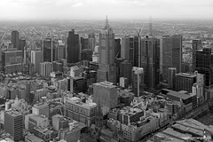 Melbourne:  CBD View from Eureka Tower