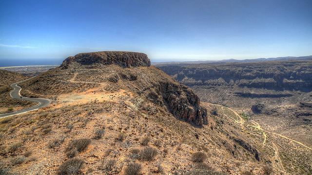 Berge auf Gran Canaria