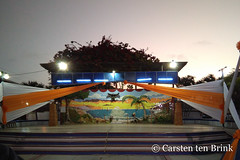 Zorritos mural after the fiesta