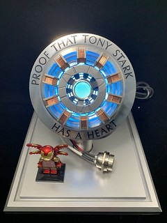 1:1 Iron Man Arc Reactor collection.Proof That Tony Stark has a heart .