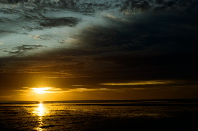 Sunrise, Selsey Beach and Pagham Marsh