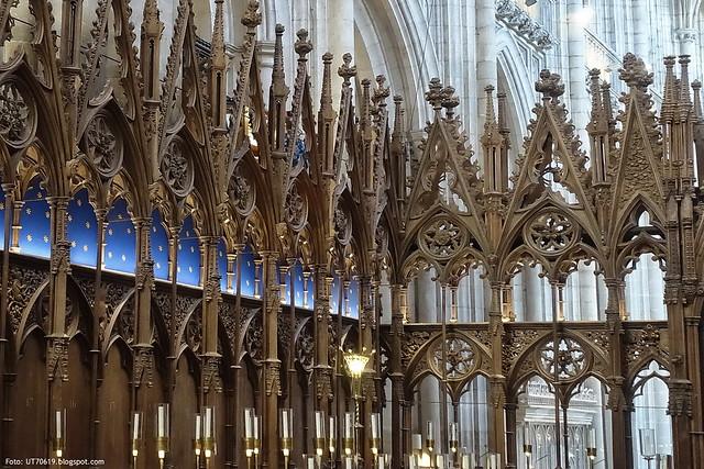 Kathedrale Chorgestühl
