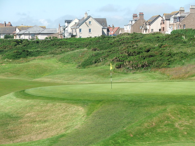 Cruden Bay - 2nd Tabletop green