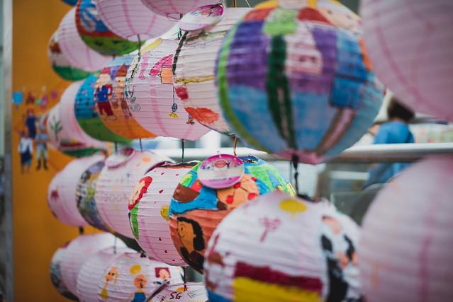 Paper Lanterns, Chinatown, Singapore