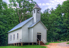 Cades Cove MIssionary Baptist Church - Great Smoky Mountains National Park