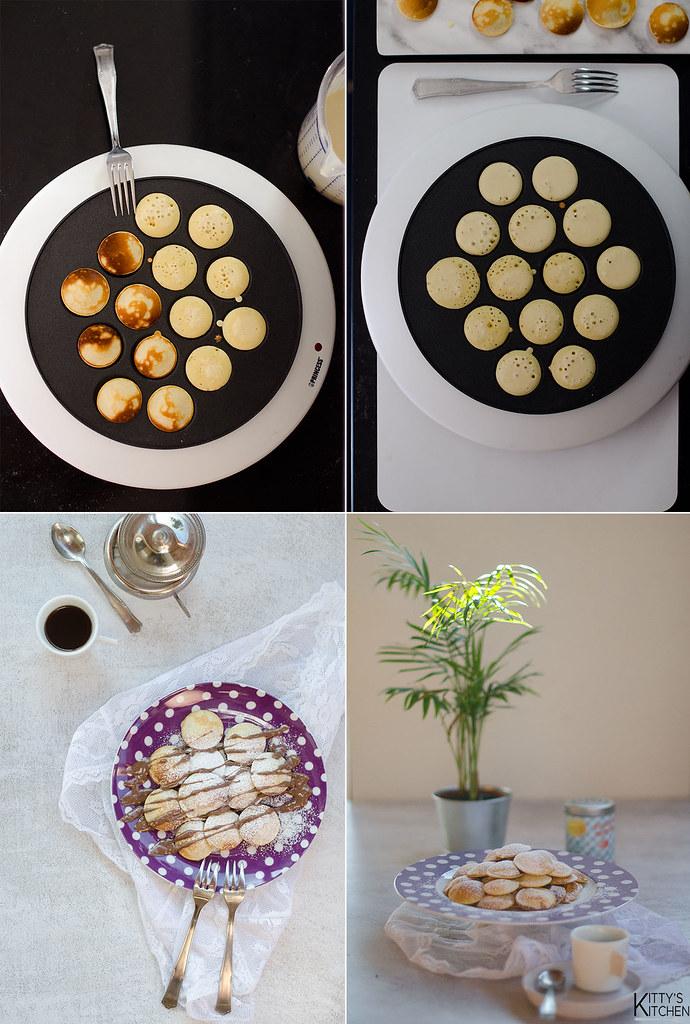 Poffertjes, I pancake olandesi