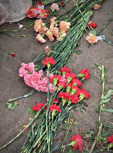 Flower market, Bogota